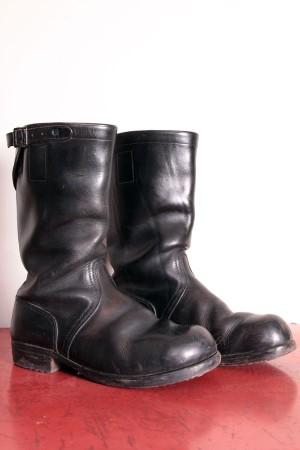 1950′s german engineer boots