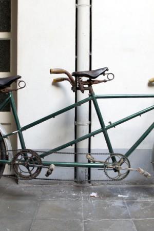 1930's belgian tandem