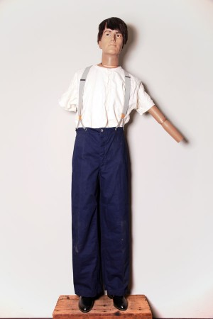 1951 french postman pants
