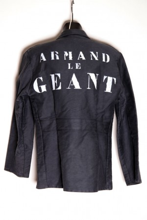1930's Armand le Géant moleskin work jacket