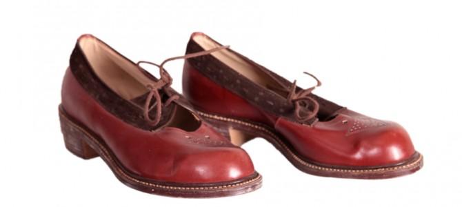 1940's women shoes «La Tulipe d'Or»(2)