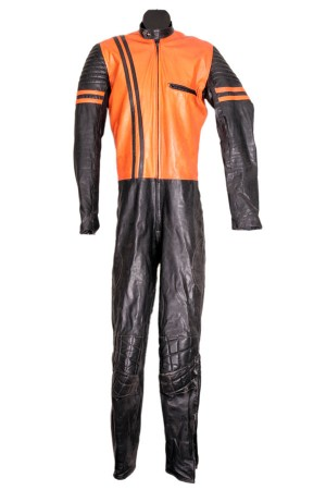 1970's leather coverall