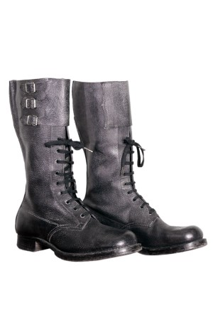 50's Belgian Army motorcycle boots*2
