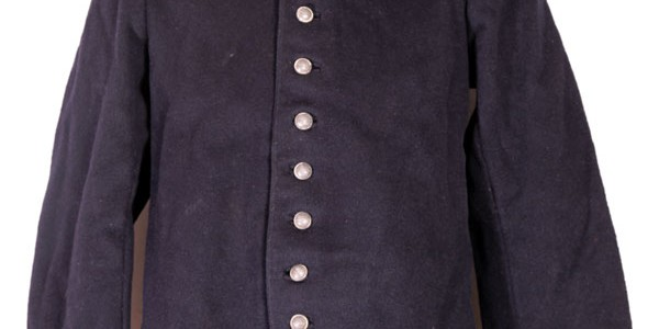 1880's french fireman jacket