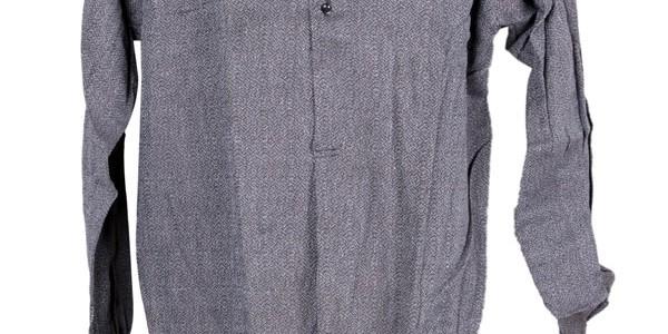 1950's salt & pepper work shirt