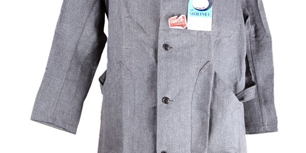 1950's salt & pepper work coat