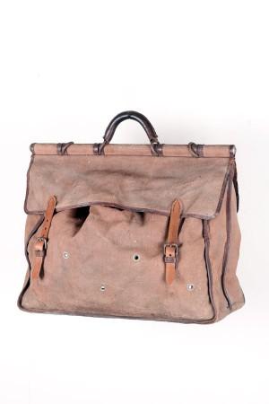 1930's french canvas handbag
