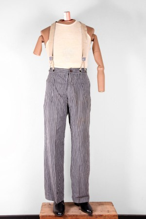1940's homemade stripped pants