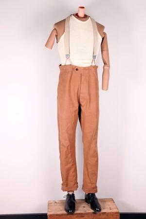 1930's duck brown work pants