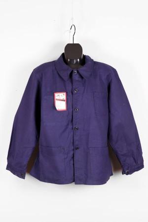 1950's indigo linen work jacket