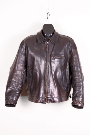 1970's Aero Leather Highwayman jacket