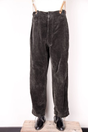 1940's peasant cord pants