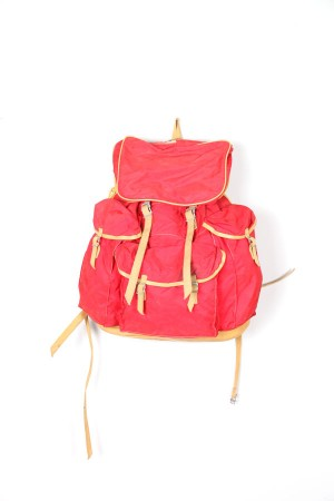 1960's red Lafuma backpack