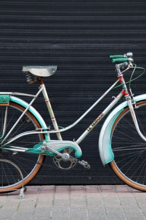 Late 50's Le Faucon women bicycle