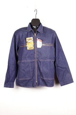 1960's french denim chore jacket