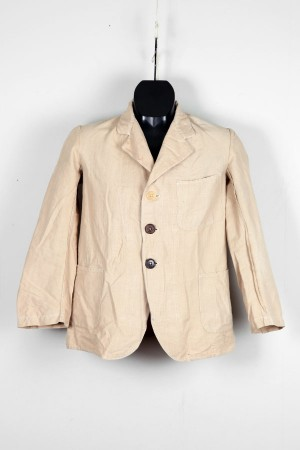1920's french linen jacket