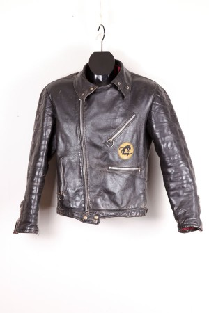 1970's Furygan leather jacket