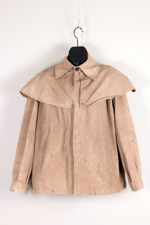 1950's french hunting cape jacket