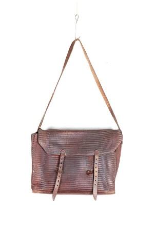 1930's leather shoulder bag