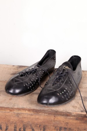 1960's french cycling shoes