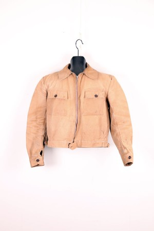 1930's duck brown french work jacket