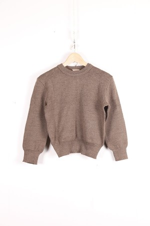 1950's french army wool pull over