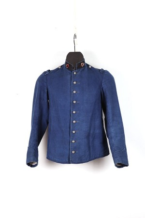 Early 1900's fireman herringbone jacket