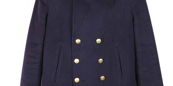 French Marine Nationale peacoat