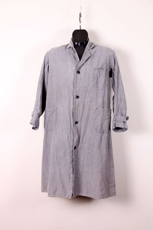 1930's salt & pepper teacher coat