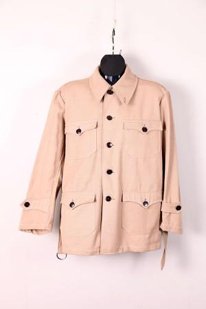 1950's french beige saharienne jacket