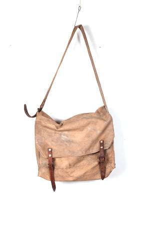 1930's french canvas shoulder bag
