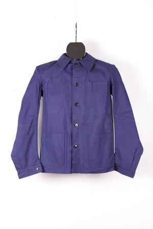 1950's Mecano indigo linen work jacket