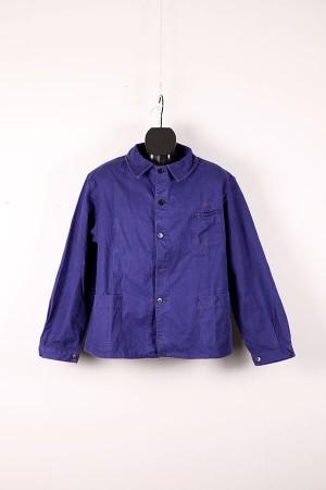 1950's blue moleskin work jacket