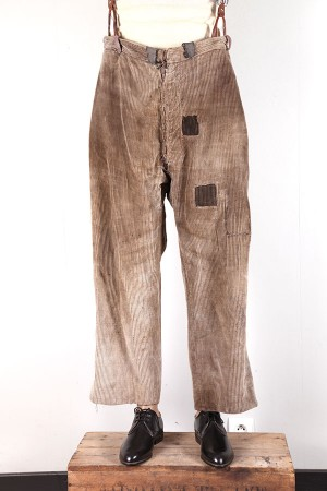 1930's french cord farmer pants