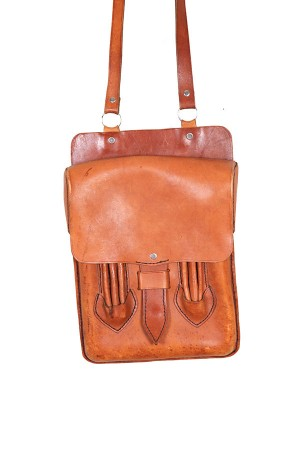 1950's draughtsman leather bag