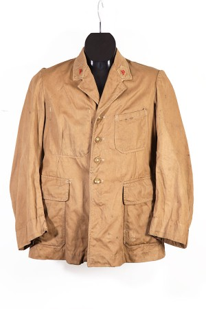 WWII french army brown jacket