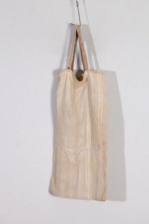 1930's french handmade coton + linen bag