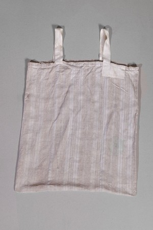 1930's french handmade coton + linen bag (3)