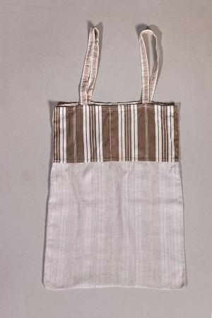 1930's french handmade coton + linen bag (2)