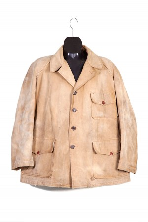 1950's french hunting canvas jacket