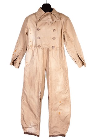 1950's Macombynn motorcyclist coverall