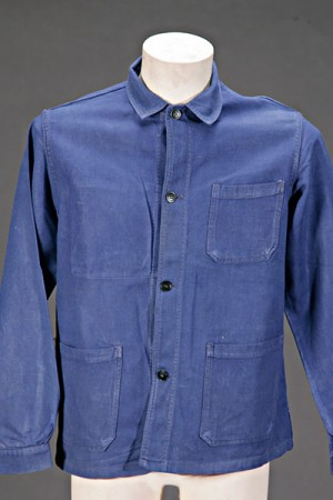 1950's blue work jacket