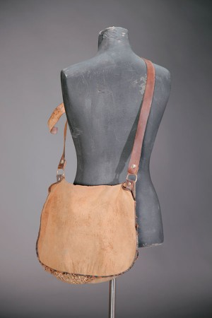 1930's canvas hunting bag