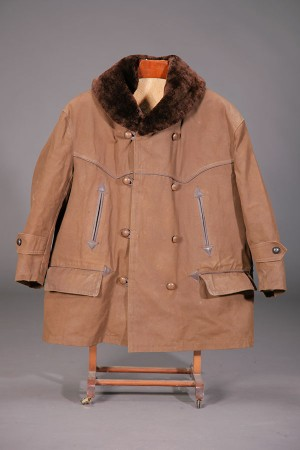1950's french canvas mackinaw jacket
