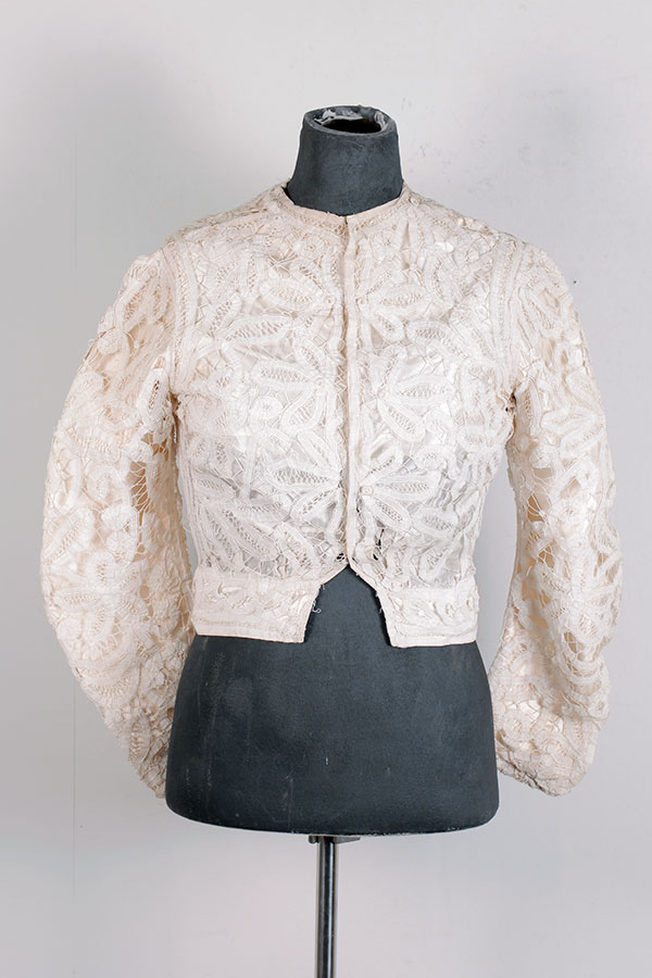 Late 1800's french lace blouse