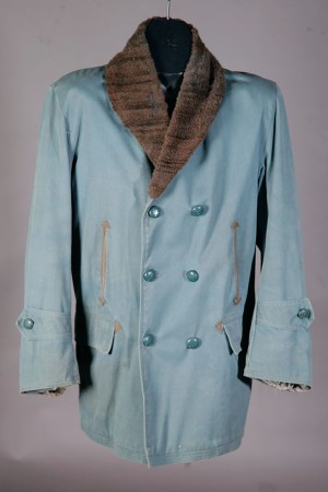 1950's belgian canvas mackinaw jacket