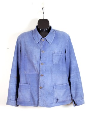1930's french moleskin work jacket Le Populaire