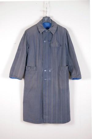 1940's french reversible work coat