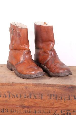 1950's belgian customs officer boots