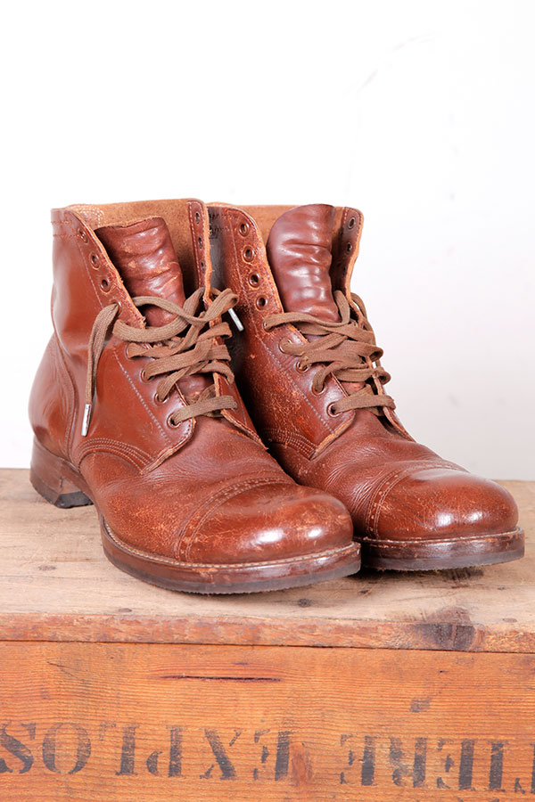 1942 US Army leather boots